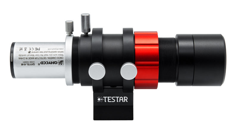 Testar 30mm F/4 Mini Guide Scope with QHY 5L-II camera
