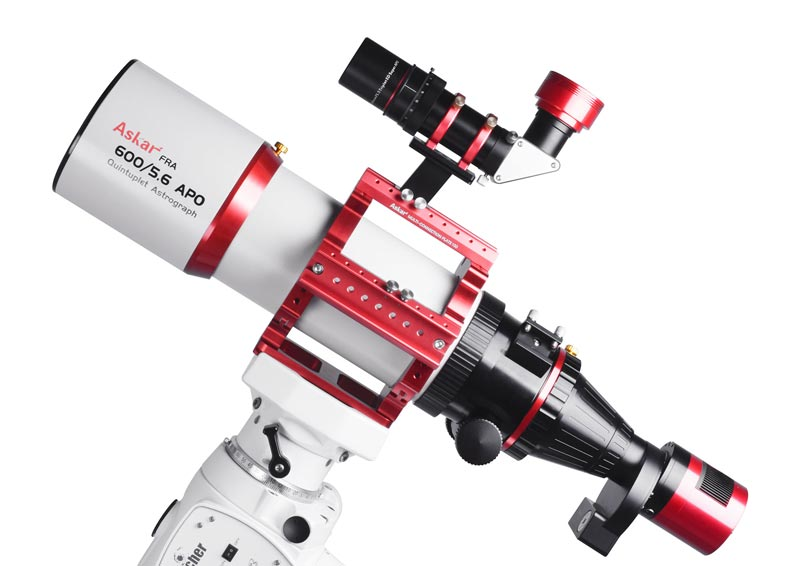 Askar FRA600 petzval refractor telescope with multi connection plate 150