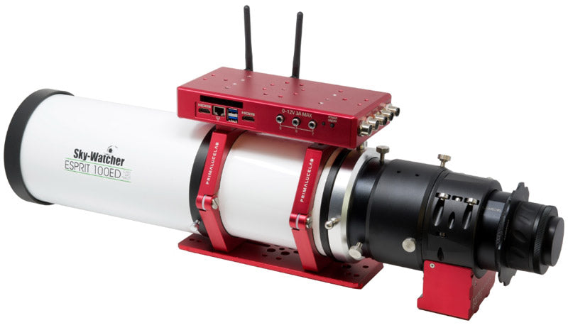 """SkyWatcher ESPRIT 100 ED apochromatic refractor with ESATTO 3"""" and the following accessories: Losmandy style 240mm PLUS dovetail bar and EAGLE"""