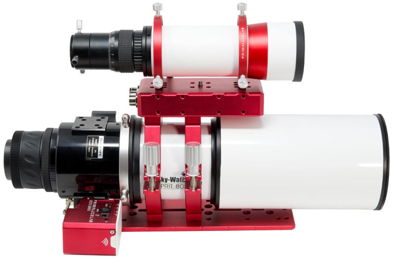 SkyWatcher Esprit 80 apo refractor with Prima Luce Lab Sesto Senso 2 electronic focuser and EAGLE