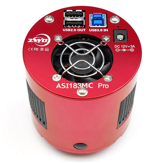 ZWO ASI 183MC PRO [COLOUR] Camera Testar Australia.