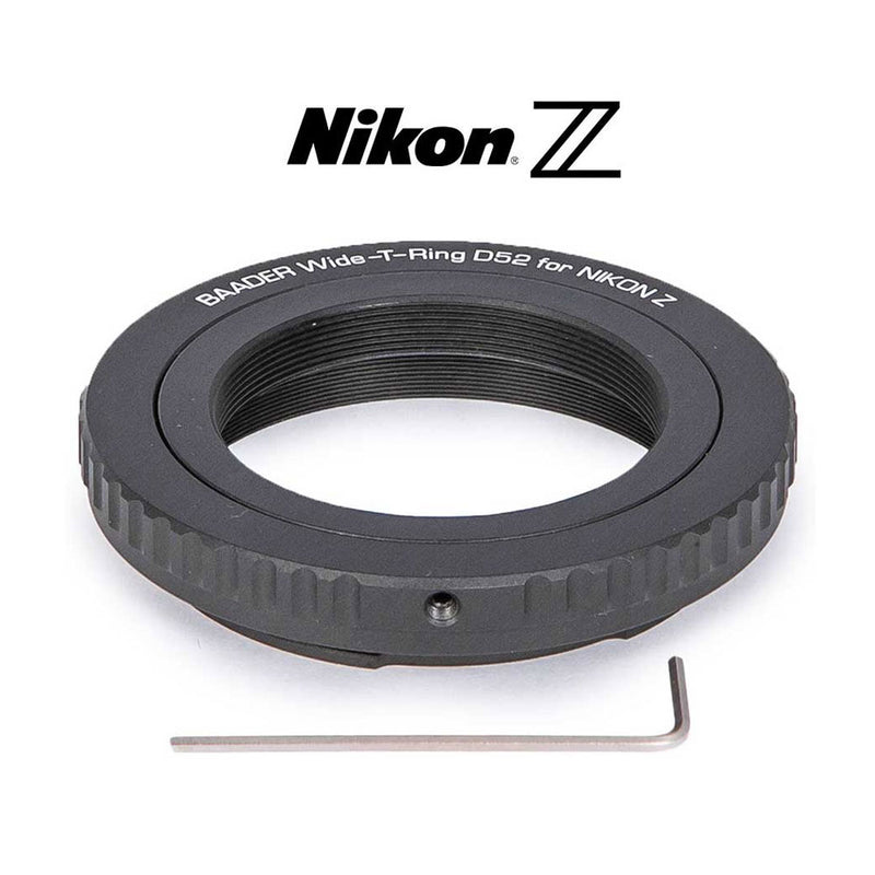 BAADER T-RING FOR NIKON Z CAMERAS Adapter Testar Australia.
