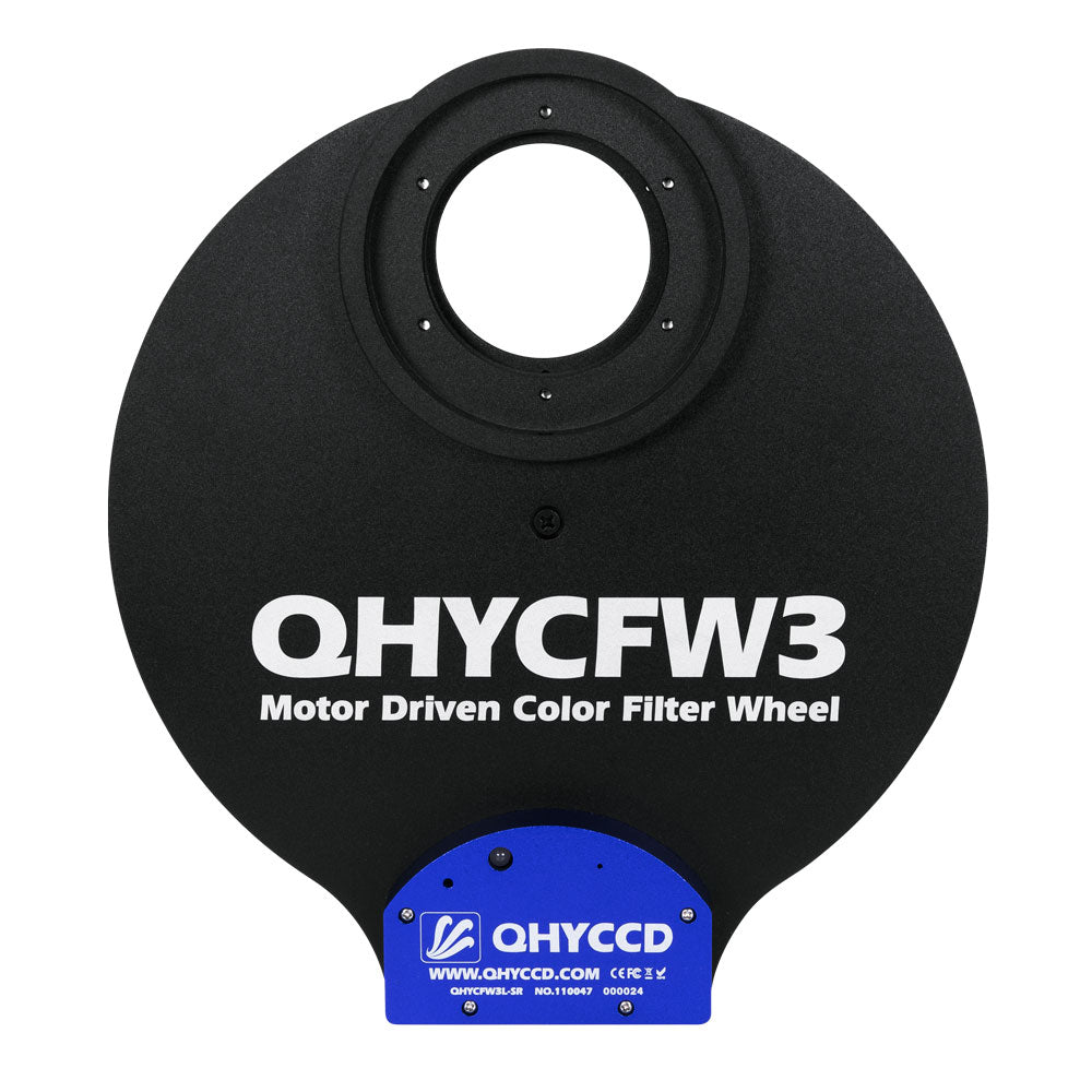 "QHY CFW3 LARGE FILTER WHEEL 7 x 2"" & 7 x 50mm Accessory Testar Australia."