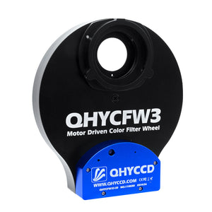 "QHY CFW3 SMALL FILTER WHEEL 7 x 1.25"" & 7 x 31mm."