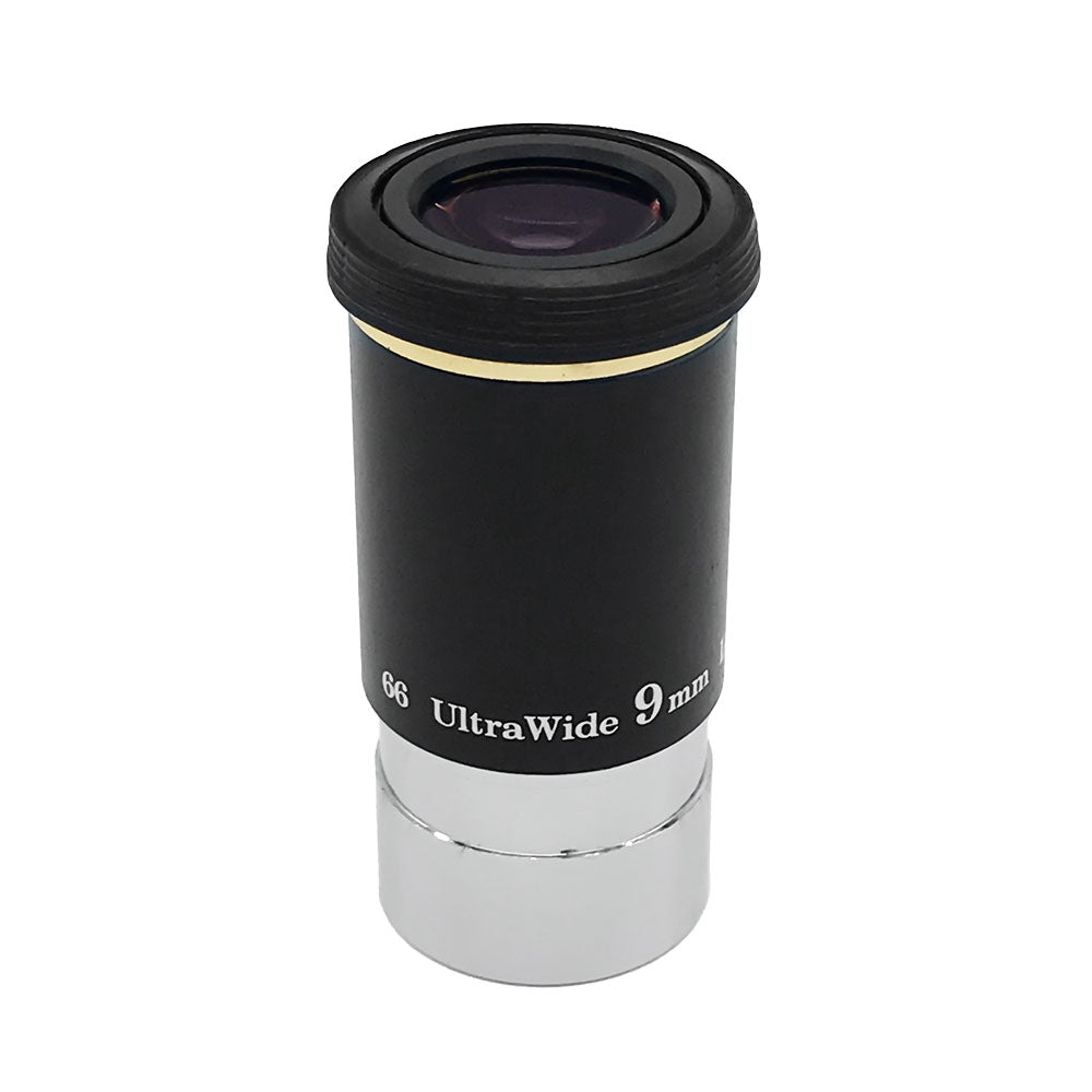 "DEMO 9mm ULTRA WIDE LONG EYE RELIEF EYEPIECE 1.25""."
