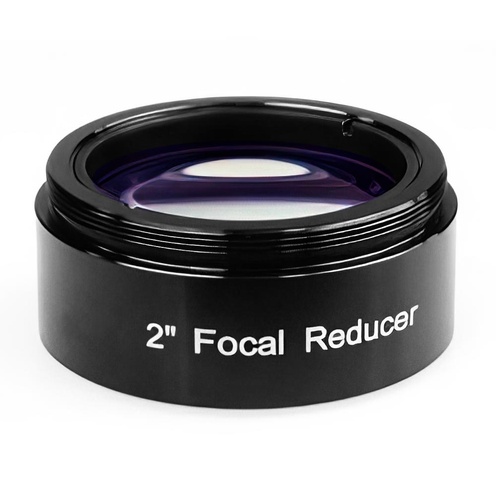"TS-OPTICS FOCAL REDUCER 0.5X - 2"" FILTER THREAD Telescope Accessory Testar Australia."