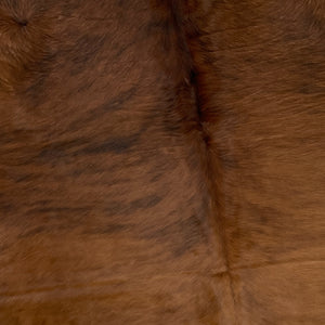 Brazilian Red Brown Brindle Cowhide - (BRBR254)