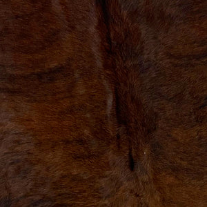Brazilian Dark Brindle Cowhide, Dark Red Brown and Black (BRBR446)