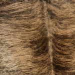 Large Brazilian Brown and Black Brindle Cowhide (BRBR516)