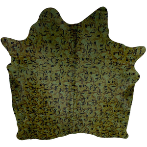 "Brazilian Camouflage Print Cowhide - 6'9"" x 5'9"" (BRCAM002)"