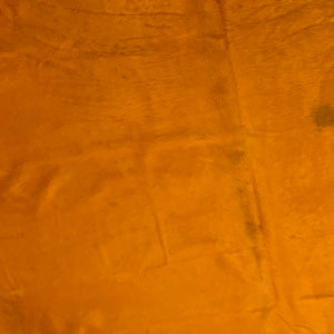 PROMO Large Brazilian Orange Dyed Cowhide  (BRSL058)