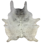 "Brazilian Light Tricolor Salt & Pepper Cowhide - 7'1"" x 5'9"" (BRSP439)"