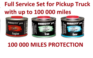 Full Service Set for Pickup Truck with up to 100 000 miles