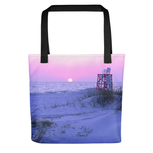 Original art beach Tote bag