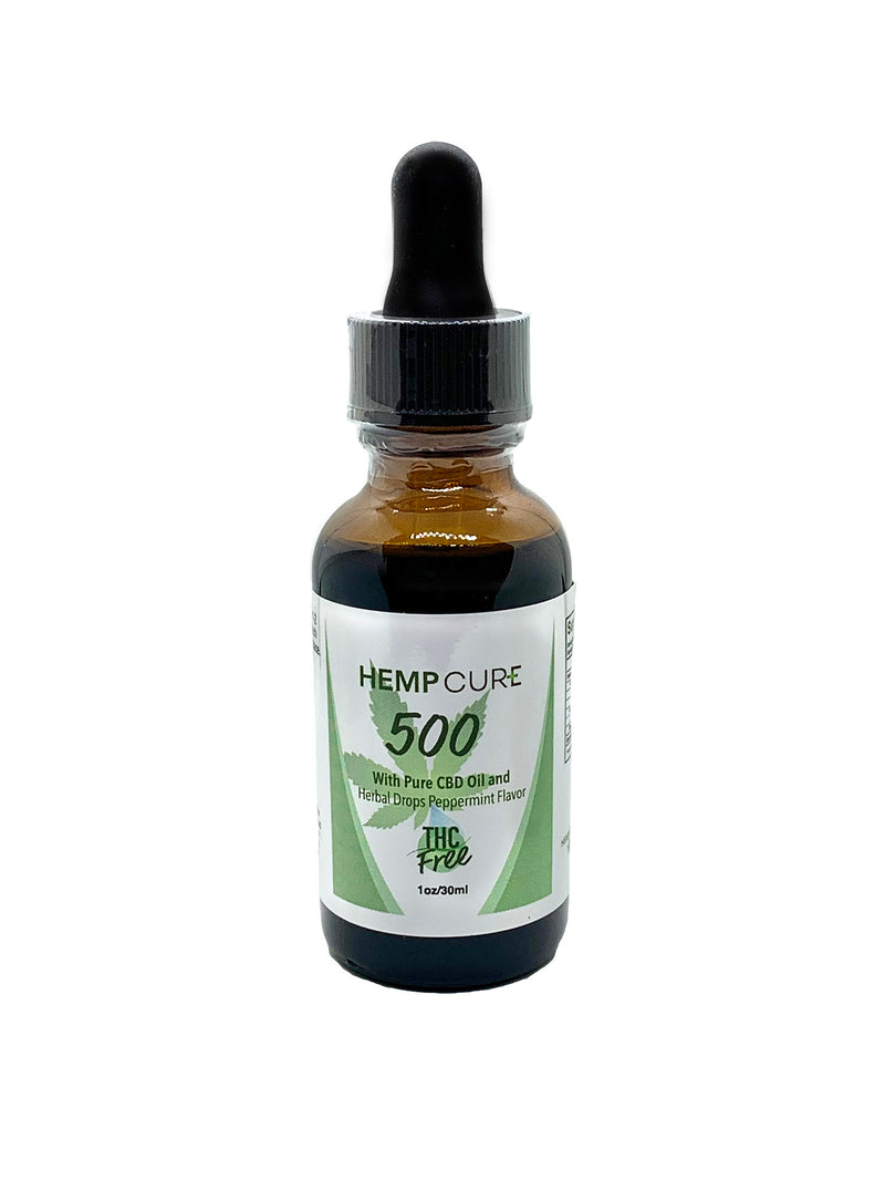 HempCure 500 Peppermint THC Free