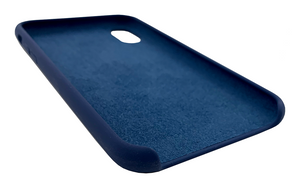 Soft-Touch Silicon + Microfiber Case