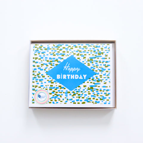 Birthday Confetti Notecards