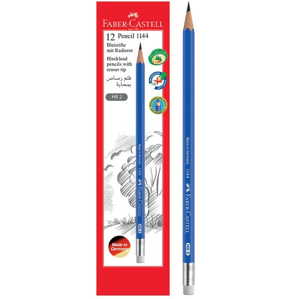 FABER-CASTELL 12 PENCIL ,HB 2