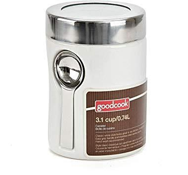 GOODCOOK CERAMIC CANISTER 4.6 CUP/1.15L W/SPOON