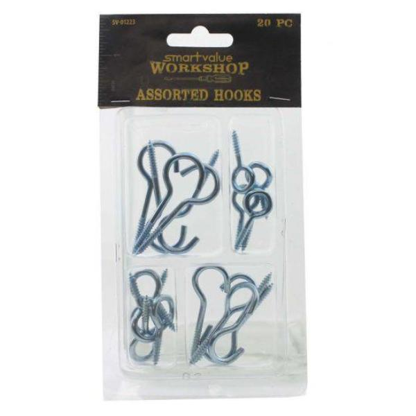 SMART VALUE ASSORTED HOOKS SET 20pcs