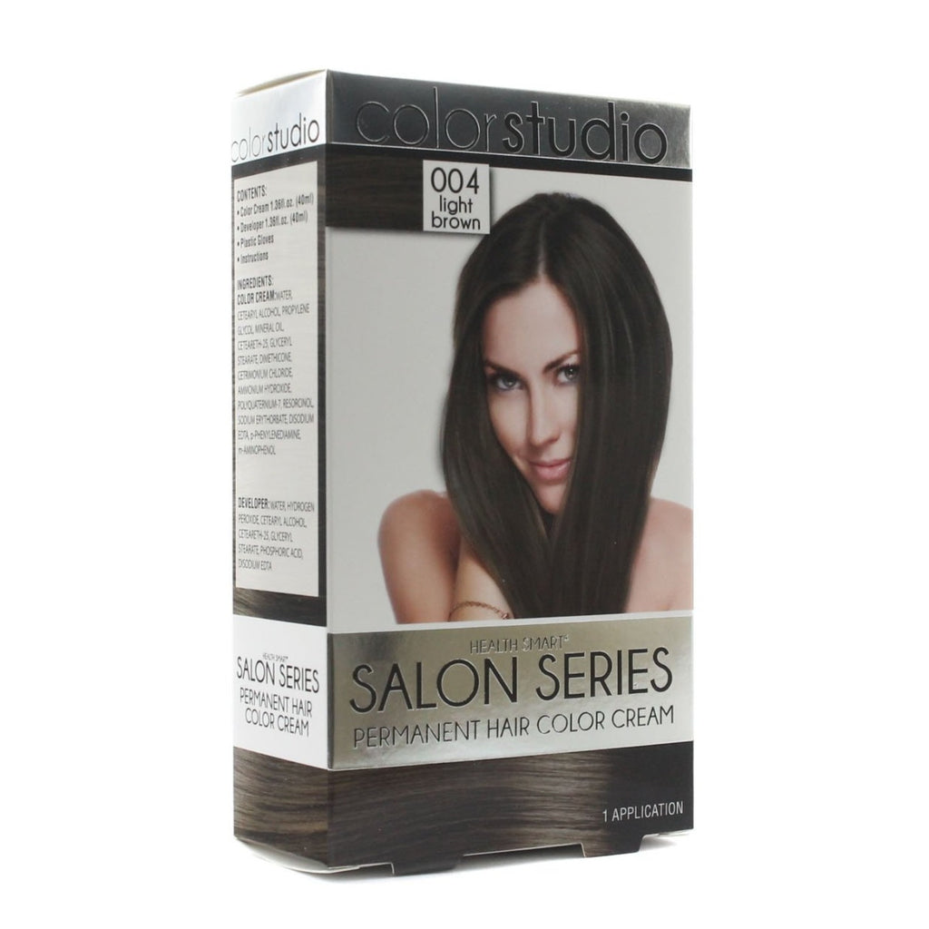 HEALTH SMART HAIR COLOR FOR WOMEN LIGHT BROWN