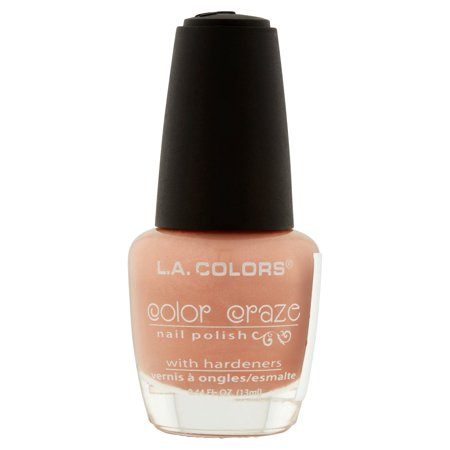 L.A. COLORS NAIL POLISH MEGA WATT