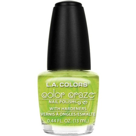 L.A. COLORS NAIL POLISH LIME LIFE