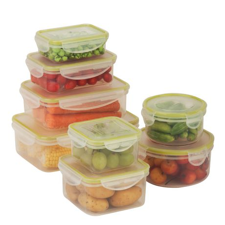 HONEY-CAN-DO SNAP FOOD CONTAINERS 8+ covers  SET