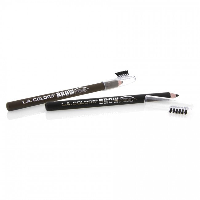 L.A. COLORS BROW PENCIL WITH BRUSH -Medium-CP672