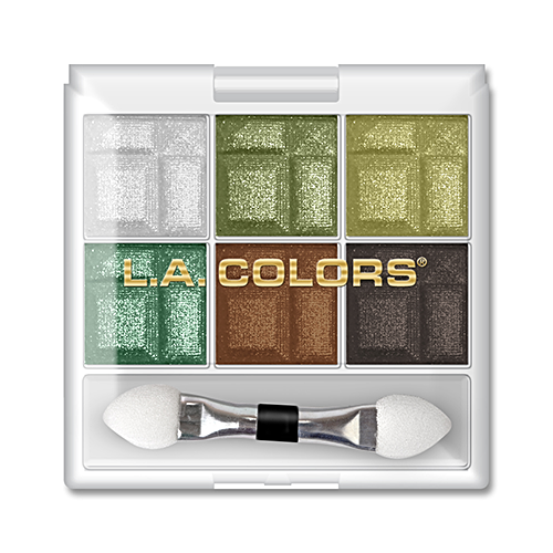 L.A. COLORS 6 COLOR EYESHADOW CHARMING