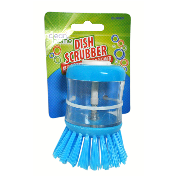 Clean Home Dish Scrubber, use & refill