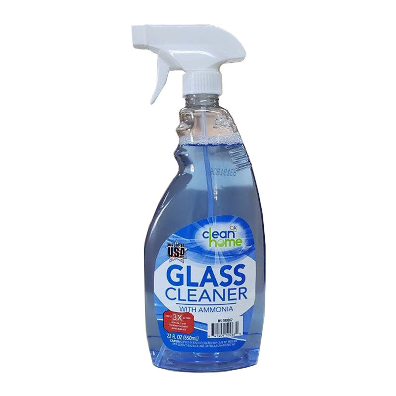 Clean Home Glass Cleaner 650ml