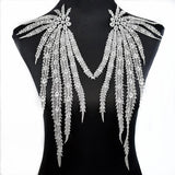 Embroidered Feathers for Your Clothes, Fly With This Beauty!!