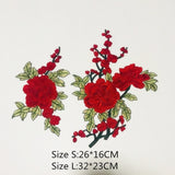 Do You Love Flowers? Mmmm...Smell the Roses!! Embroidered Sew-on Patches