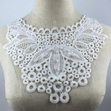 Embroidered Venise Lace Neckline Collar Embellishment Sewing Applique Trims Sewing Supplies Scrapbooking