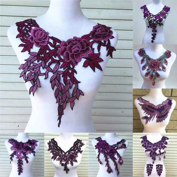 Wow Everyone With These Amazing Embroidered Flower Embellishments!!