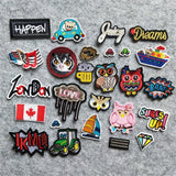 Have Fun With All These Possibilities to Express Yourself with these Iron or Sew On Patches!!