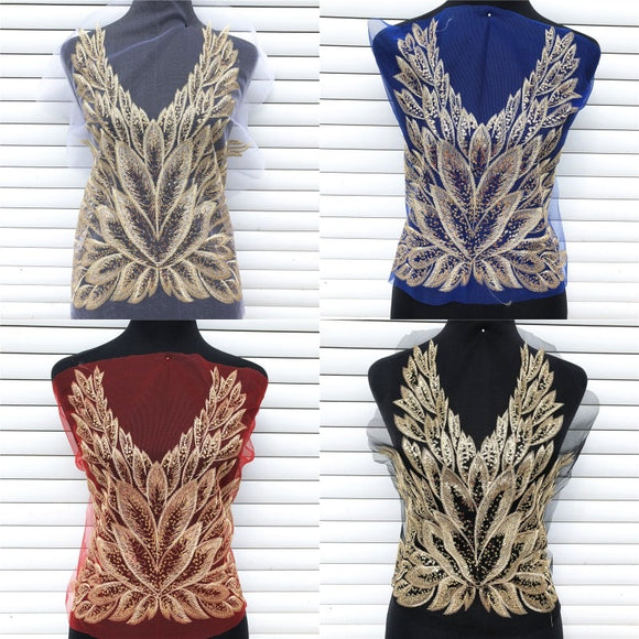 Dreamy Feathers Across The Front of Your Favorite T-Shirt? Dress? Jacket? Or Make A Vest?