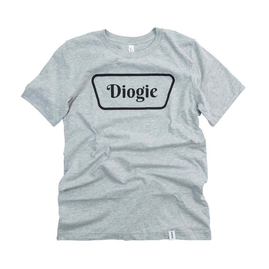 Classic Logo T-Shirt - Heather Grey