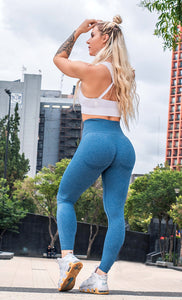 Leggings Azul