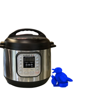 PotHeadz™  Bird Steam Diverter for Instant Pot - Blue