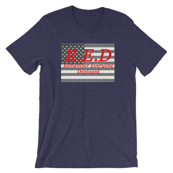 RED Short-Sleeve Unisex T-Shirt