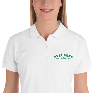 St. Patty's Day laddies Embroidered Polo