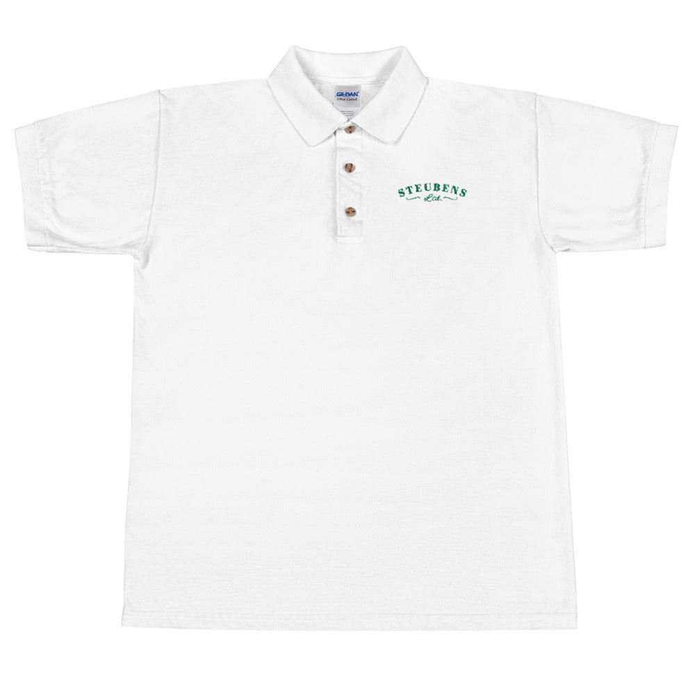 St. Patty's Day Mens Embroidered Polo Shirt