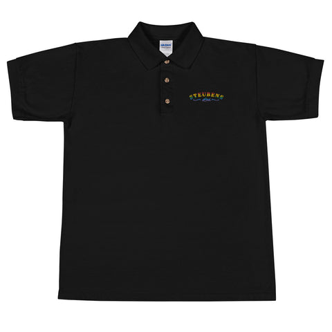 Pride logo Embroidered Polo Shirt