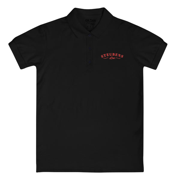 Heart Month Embroidered Ladies' Polo Shirt