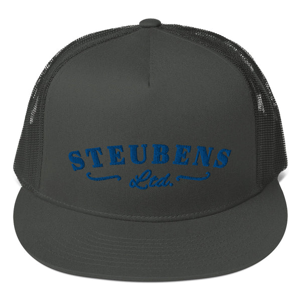 Blue Logo Trucker Cap