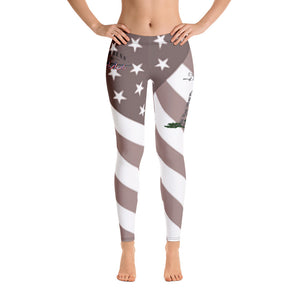 Ladies Flag and Snek Leggings