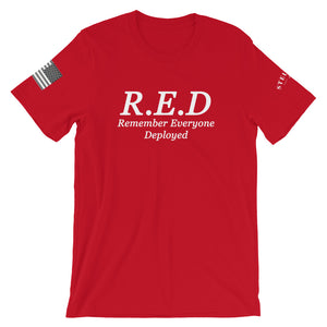R.E.D Short-Sleeve Unisex T-Shirt