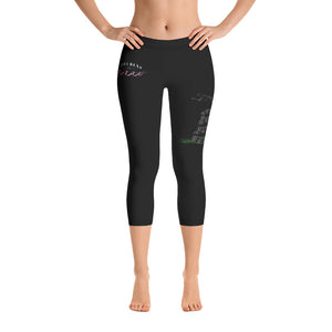 Ladies' All American Snek Capri Leggings